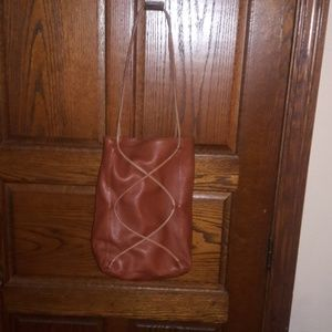 NINO BOSSI UNIQUE LEATHER PURSE, LIKE NEW!